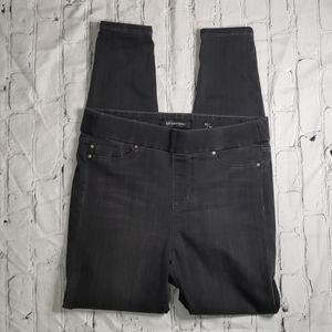 Black Liverpool Denim Leggings - 10/30